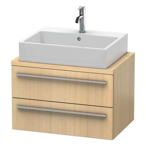 Duravit - Vanity Unit For Console Compact, Mediterranean Oak (real Wood Veneer)