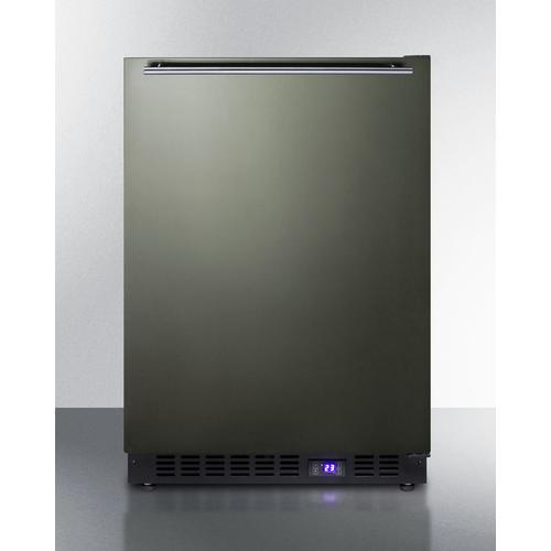 """Summit - 24"""" Wide Built-in All-freezer With Icemaker"""
