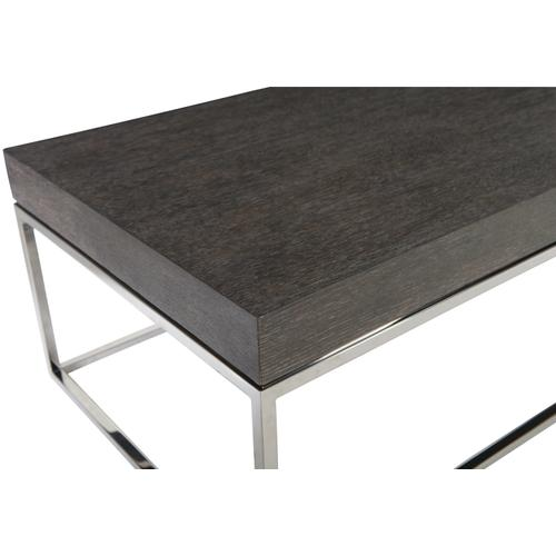 Riverside Rectangular Cocktail Table in Weathered Charcoal