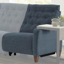 CHELSEA - WILLOW BLUE Power Right Arm Facing Recliner