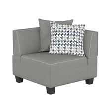 View Product - Corner Seat with 2 Pillows