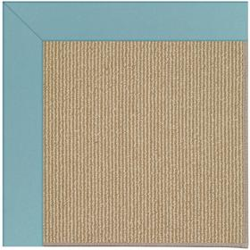 Creative Concepts-Sisal Canvas Mineral Blue Machine Tufted Rugs