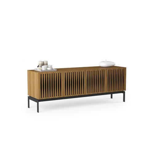 BDI Furniture - Elements 8779 Console Storage Console in Tempo Doors Natural Walnut