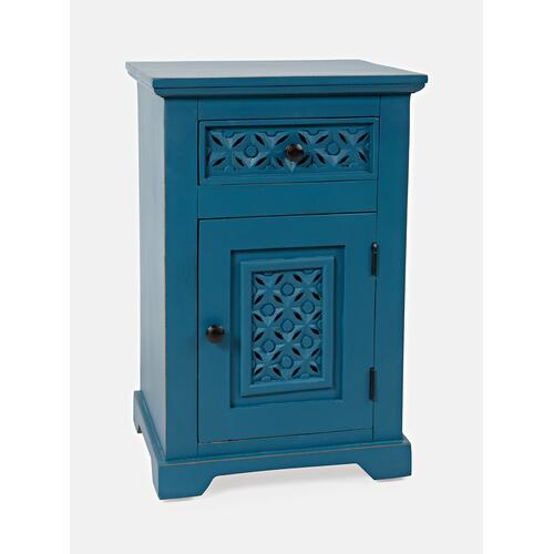 Decker Cabinet Accent Table