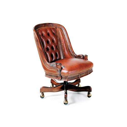 Hancock and Moore - 1574ST APPOINTMENT TUFTED SWIVEL TILT CHAIR