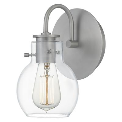 See Details - Andrews Wall Sconce in Antique Nickel