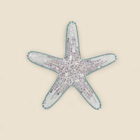 Medium Mosaic Starfish Wall Hanging