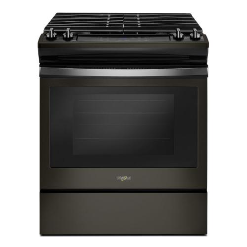 Whirlpool Canada - 5.0 cu. ft. Front Control Gas Range with Cast-Iron Grates