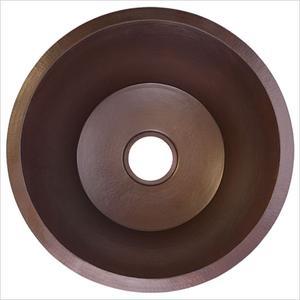 """Large Flat Round 3.5"""" drain"""" Product Image"""