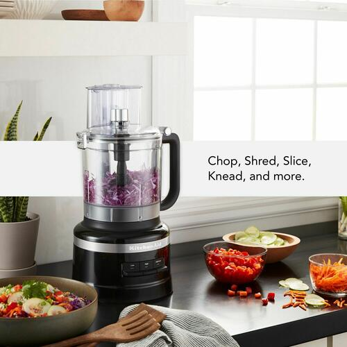 KitchenAid Canada - 13-Cup Food Processor with Dicing Kit - Onyx Black