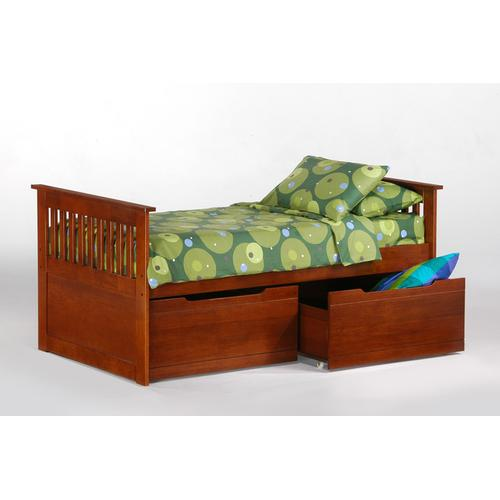 See Details - Ginger Captains Bed in Cherry finish
