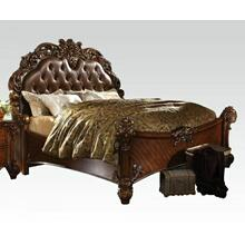 ACME Vendome Eastern King Bed - 21997EK_KIT - Cherry PU