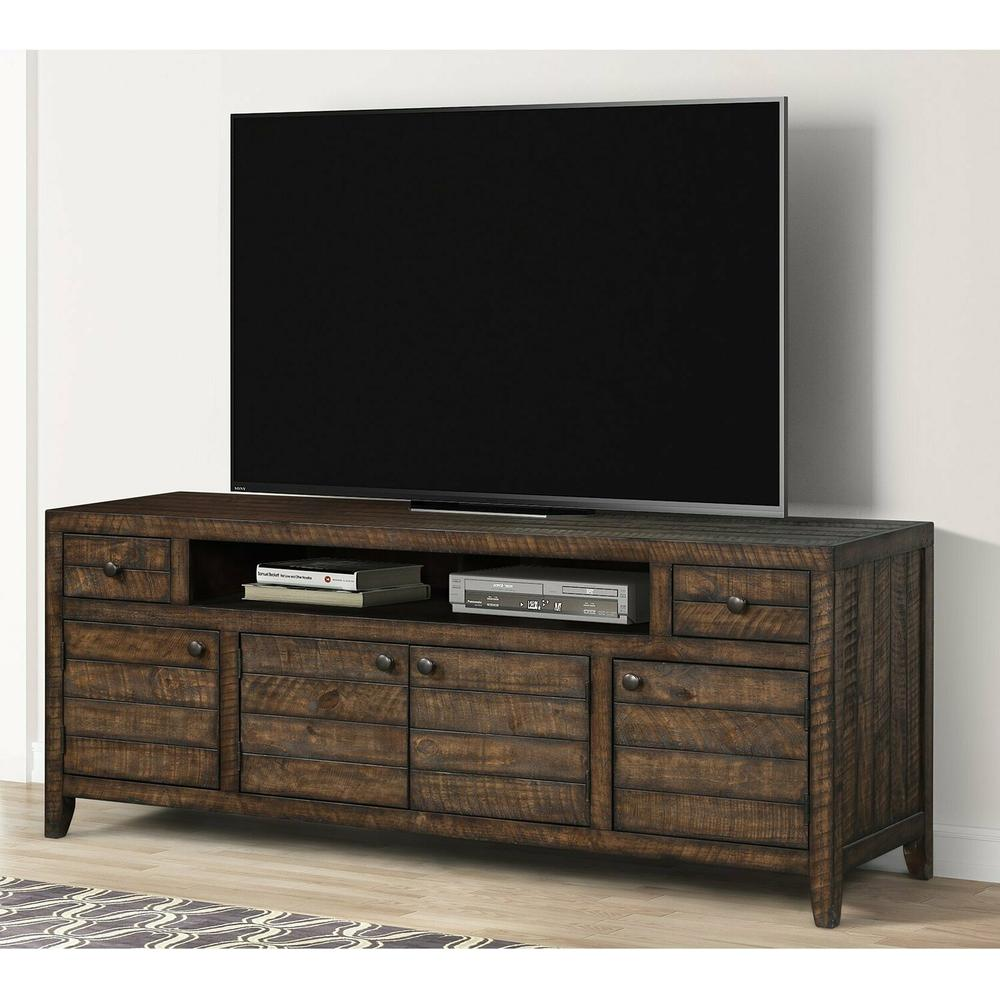 TEMPE - TOBACCO 76 in. TV Console