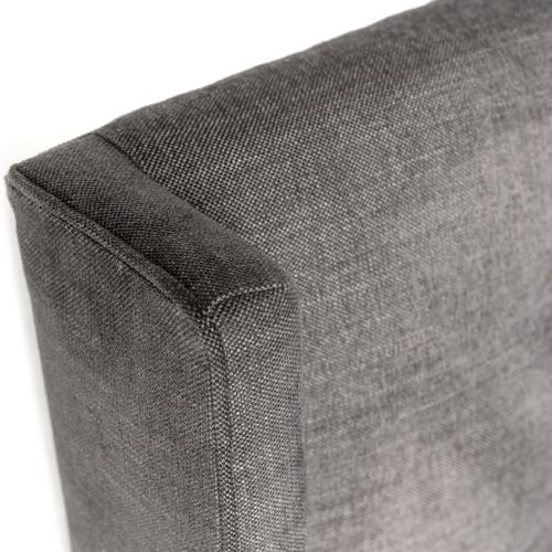 King Size Harbor Grey Cover Newhall Bed - 55""