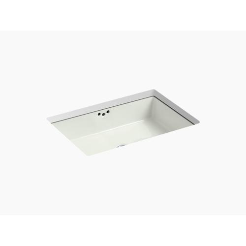 """Dune 23-7/8"""" X 15-5/8"""" X 6-1/4"""" Undermount Bathroom Sink With Glazed Underside"""
