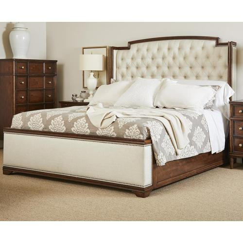 Gallery - Vintage Upholstered Bed - California King