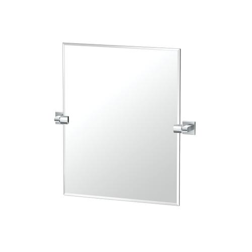 Mode Rectangle Mirror in Chrome
