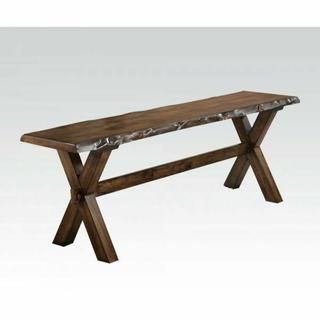 ACME Tratha Bench - 72902 - Antique Oak
