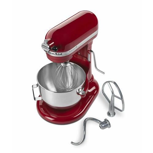 KitchenAid - Professional HD™ Series 5 Quart Bowl-Lift Stand Mixer - Empire Red