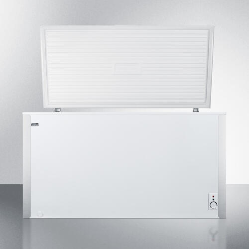 Commercially Listed 14.1 CU.FT. Manual Defrost Chest Freezer