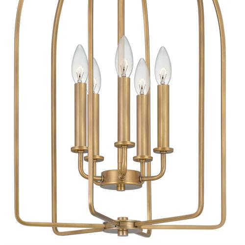 Quoizel - Cornell Pendant in Weathered Brass