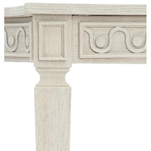 Allure Console table in Manor White (399)