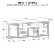 TS83G Custom TV Console