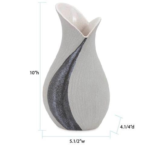 Howard Elliott - Dimension Two Toned Vase, Tall