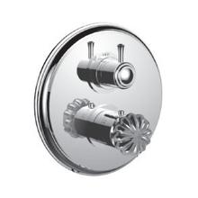 "7098tt-tm - 1/2"" Thermostatic Trim With 3-way Diverter Trim (shared Function) in Polished Chrome"