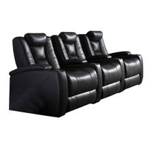 See Details - 3-seater Power Home Theatre - Black