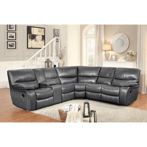 Gallery - 3-Piece Modular Reclining Sectional with Left Console