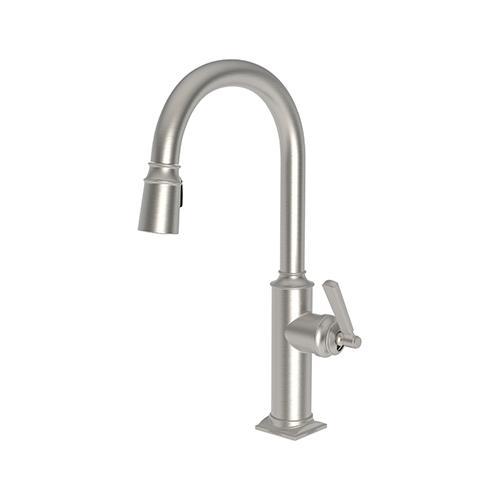 Newport Brass - Satin Nickel - PVD Pull-down Kitchen Faucet