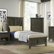 See Details - Tahoe Youth Twin Panel Bed  River Rock