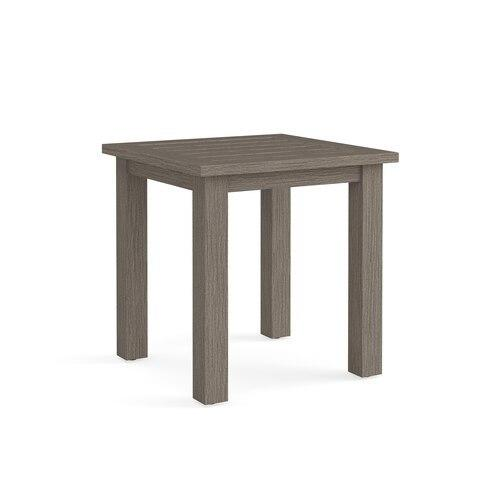 Aluminum Farm Tables Square Side Table