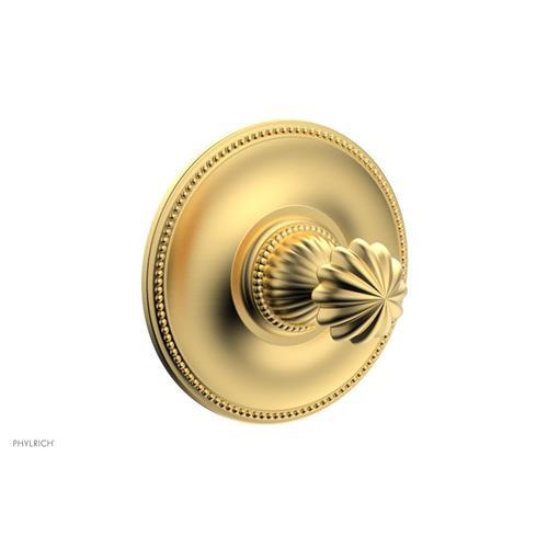Phylrich - GEORGIAN & BARCELONA Pressure Balance Shower Plate & Handle Trim PB3361TO - Burnished Gold
