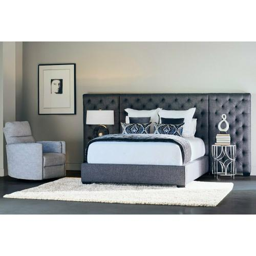 ZOEY - STORM Upholstered Bed Collection