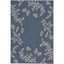 "Finesse-Winterberry Capri Blue - Rectangle - 3'11"" x 5'6"""
