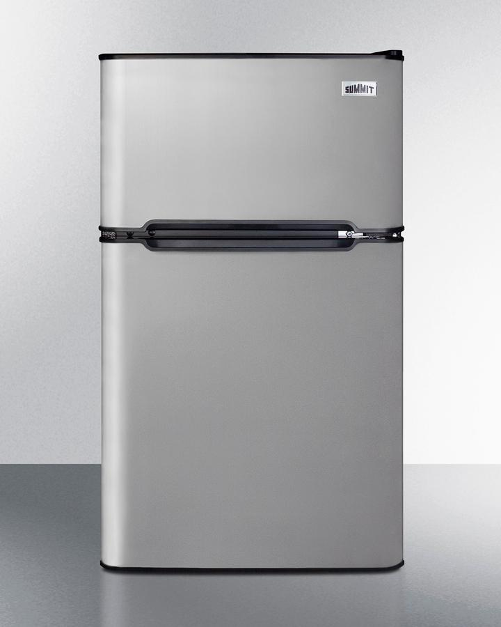 "Summit19"" Wide 2-Door Refrigerator-Freezer"