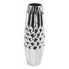 Silver Md Vase Silver