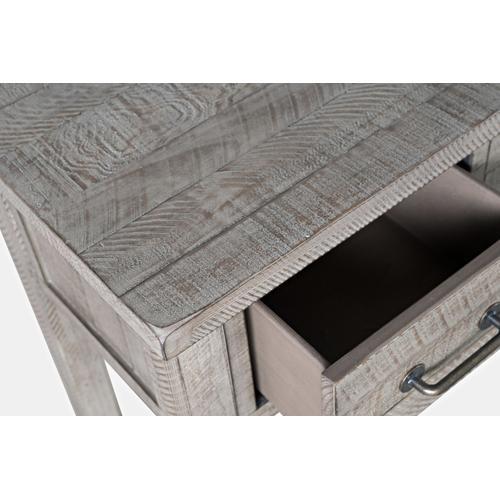 North Coast 5 Drawer Accent Console - Grey Wash