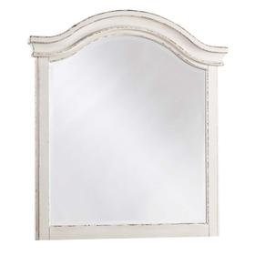 Realyn Youth Mirror Chipped White