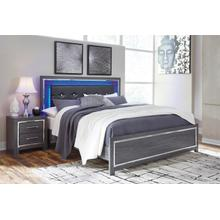 B214 King LED Bed (Lodanna)