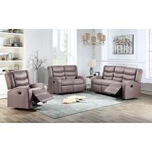 Deana Taupe Sofa and Loveseat 2PC Set