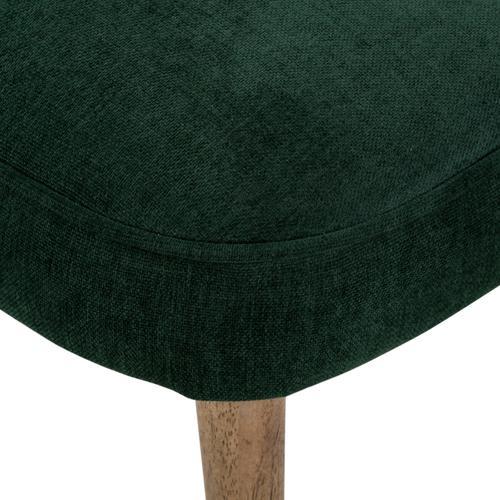 Orville Dining Chair-emerald Worn Velvet
