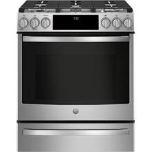 "Display Model Clearance - GE Profile™ 30"" Smart Slide-In Front-Control Gas Range"