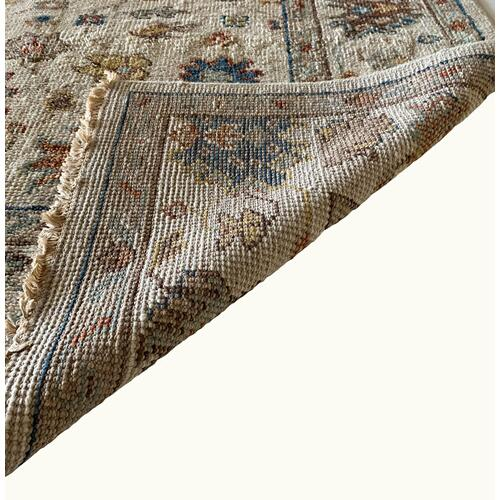 Charise-Chobi Ivory Multi Hand Knotted Rugs