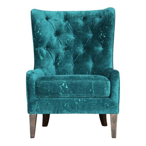 Arya Arm Chair Blue Green