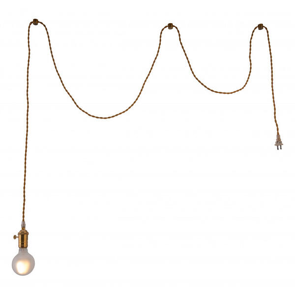 Felix Ceiling Lamp Brass
