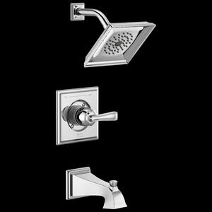 Chrome Monitor ® 14 Series Tub & Shower Trim Product Image