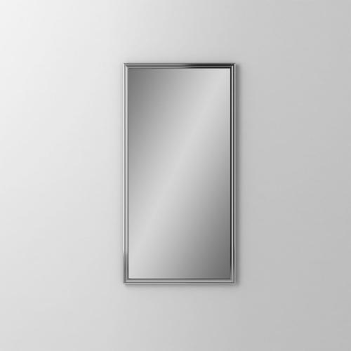 """Main Line 19-1/8"""" X 39-7/8"""" X 1-5/8"""" Rosemont Framed Mirror In Chrome"""